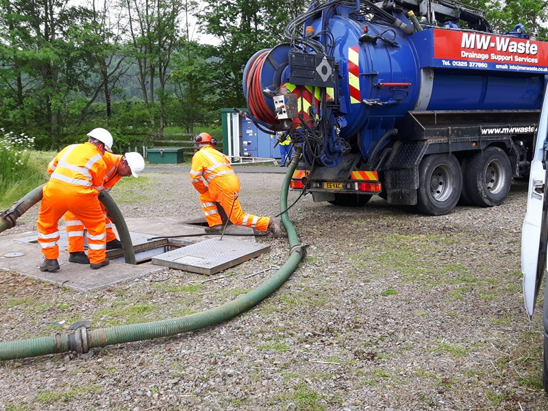 Sewer & Drain Cleaning | MW Waste